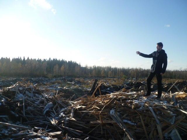 Дмитрий Данильев начал борьбу с нелегальными полигонами строительных отходов в Петрозаводске